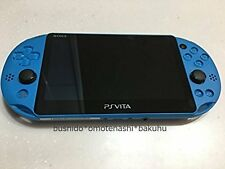 PlayStation Vita Wi-Fi Model Aqua Blue PCH-2000ZA23 Only Console Used From Japan