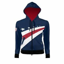 Primal Wear USA Cycling Men's Full Zip Tracer Hoodie