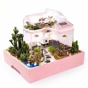 Creative Fish Tank Ecological Home Table Decorations Children Small Aquariums