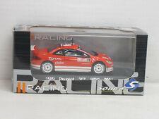 Peugeot 307 WRC 2004 in rot, Nr.5, Racing-OVP mit Vitrine, Solido 1589, 1:43