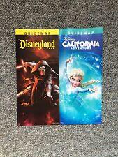Disneyland / DCA California Adventure July 2016 Park Maps and Guide