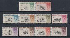 Falkland Inseln - 1960, 1/2d - 1s Vögel Kurz Set - MNH & L/M - Sg 193/202