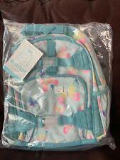 Pottery Barn Kids Butterfly Small Backpack Girl Aqua Blue No Mono New