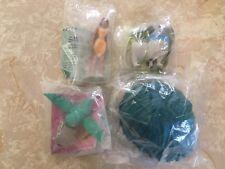 Burger King Kids Club Toys Disney's Pocahontas Set Figures Dolls 1995 Lot Of 4