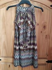 Chelsea Girl Top 12 River Island Hip Retro Hippy Bell Sleeve Vintage Ethnic Boho