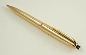 Seltener Montblanc Pix Mechanical Pencil No.86, Gold Plated,L.13,4 CM (K31)