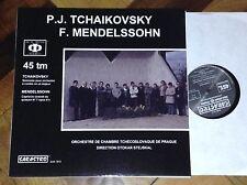 """SARASTRO AUDIOPHILE FRENCH 12"""" LP 45 RPM TCHAIKOVSKY MENDELSSOHN STEJSKAL PRAG"""