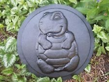 Gostatue mould Plaster,concrete abs plastic turtle on back stepping stone mold