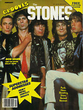 2/79 GROOVES magazine THE ROLLING STONES cover (has great ROLLING STONES poster)