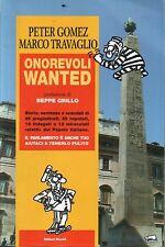 Onorevoli wanted. di Peter Gomez e Marco Travaglio - Editori Riuniti