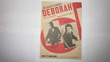 PAOLO CONTE PICKETT FAUSTO LEALI DEBORAH SPARTITO VIOLINO ED. RI - FI MUSIC 1968