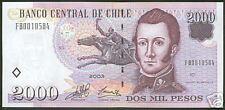Chile 2000 Pesos 2003 @ NEW PRESS @