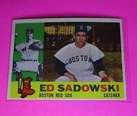 1960 Topps #403 Ed Sadowski Red Sox NmMt High Grade Sharp!
