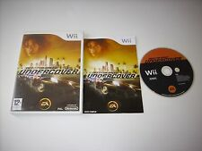 """JEU NINTENDO WII """" NEED FOR SPEED UNDERCOVER """" COMPLET EN BOITE"""