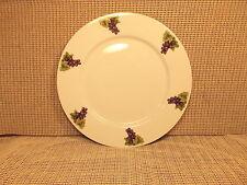 "Cordon Bleu BIA Dinnerware Grape Harvest Pattern  Dinner Plate 11 1/8"""