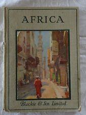 Africa The Rambler Travel Books Edited by Lewis Marsh | c.1913 Illust.