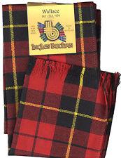 Scarf Clan Wallace Modern Tartan Scottish Wool Plaid