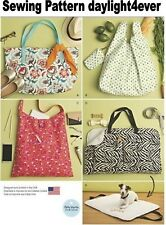 Purse Tote Bag Handbag & Travel Mat Sewing Pattern 8149 Simplicity NEW #z