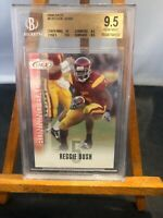Reggie Bush 2006 Sage Auto Rookie Card #8 - Beckett Graded 9.5 Gem Mint