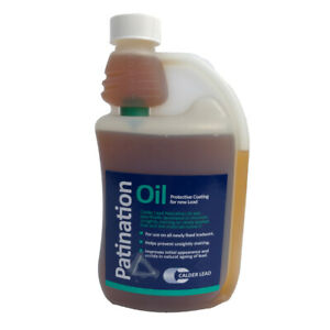 Calder Lead | Patination Oil | Protective Coating | 500ml