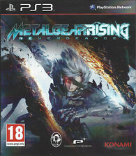 METAL GEAR RISING REVENGEANCE for Playstation 3 PS3 - with box & manual
