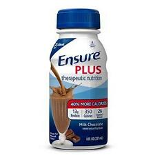 Ensure Plus Chocolate 8Oz Ready-to-Drink Milk Chocolate Bottles-48/PK *NEW!!!*