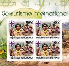 SCOUTS / International Scouting Stamp Sheet #3 of 5 (2011 Burundi)