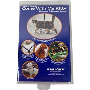PetSafe Come With Me Kitty Cat Harness & Bungee Leash Small Red New In Box