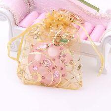 25pcs Lot Organza Drawstring Wedding Christmas Gift Decoration Pouches Candy Bag