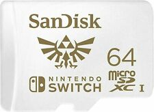 SanDisk 64GB 128GB Micro SD Memory Card For Nintendo Switch