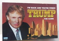 Trump the Game Board Game I'm Back and Your Fired Board Game Adult Stategy