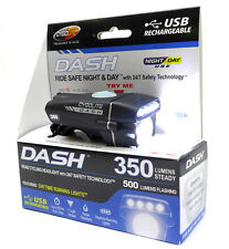 Cygolite Dash 350 USB Bicycle Headlight - Commuter Urban Trail Safetly Light NEW