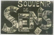 89 YONE SOUVENIR DE SENS CORRESPONDANCE MILITAIRE