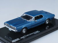 1/43 Scale model Mercury Cougar (Blue)