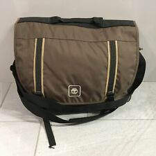 TIMBERLAND Messenger Bag Brown Crossbody Strap Laptop, School, College, Work