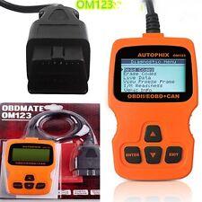 OM123 Car Scanner EOBD OBD2 OBDII Diagnostic Vehicle Code Reader Scan Tool