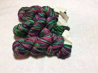 3 DAY SALE  Alana Universal Yarn 3 Hanks Designer Yarn Color LEI