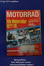 Motorrad 19/77 Suzuki TS Laverda 500 Ducati 125 Jawa
