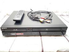 Sony RDR-VX450 DVD & VCR RECORDER Inc remoto con & Manuale 👉 copia vhs2dvd