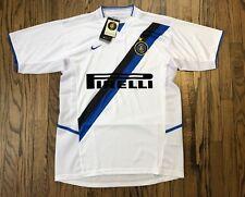 NWT Nike FC Inter Milan Mens Short Sleeve Home Soccer Futbol Jersey Size Small