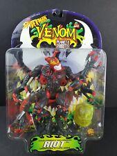 Red Riot Venom Planet Symbiotes Action Figure Spider-Man Marvel Toy Biz 1996 NEW