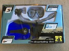 Body Glove Ultra Diving Snorkeling Set Nib New In Box. Mask, Boot Fins, Snorkel.