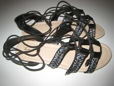 Women's Simply Vera Vera Wang Florie Sandals Open Toe Lace Up New NWT MSRP $60