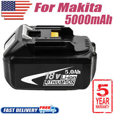 18V FOR Makita BL1840B BL1850 BL1860B LXT400 194205-3 Lithium Ion 5.0Ah Battery