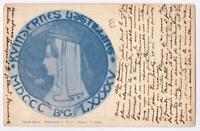 DANEMARK  Old postcard  KJOBENHAVN  TO PARIS YEAR 1909