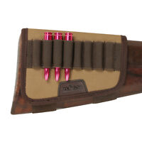 Tourbon Cartridges Holder Ammo Carrier for Butt Stock Gun Shooting Hunting Rifle