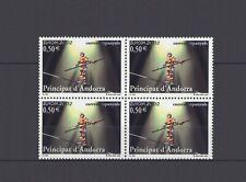 ANDORRA (SPAIN), EUROPA CEPT 2002, CIRCUS BLOCK, MNH