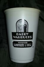 1970'S DADDY WARBUCKS HOMEMADE HAMBURGERS & CHILI CUP...EXTREMELY RARE!!!!