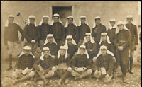 FOREIGN LEGION? FRENCH SPECIAL CORP WW1 PHOTO RPPC ANTIQUE WAR POSTCARD