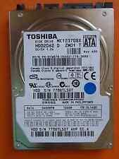 Toshiba MK1237GSX HDD2D62 D ZM01 T | DL0140D | 120GB disco rigido